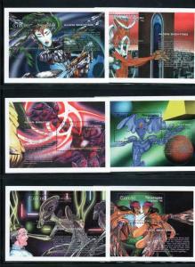 Nicaragua Scott 2020-2027 MNH! Alien Sightings!