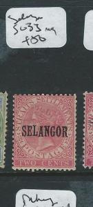 MALAYA SELANGOR (PP2607B) 2C  QV  SG 33 MOG