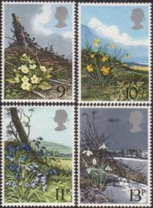 Great Britain 1979 SG1079 Spring Wild Flowers set MNH
