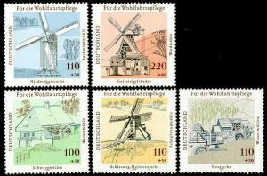 HERRICKSTAMP GERMANY Sc.# B820-24 Mills (S.P.)