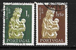 PORTUGAL, 822-823 , USED, MADONNA