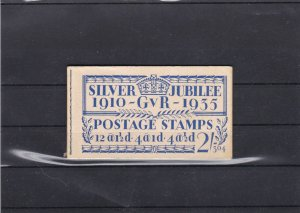 Great Britain Silver Jubilee 1910-Gvr-1935 Booklet + 1  Stamp Ref 33646