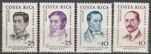 Costa Rica #C316-9   MNH (K1082)