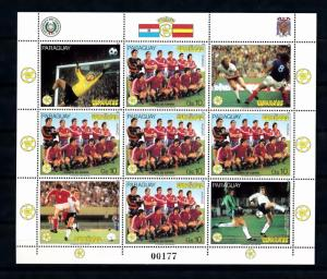 [60858] Paraguay 1982 World Cup Soccer Football Spain MNH