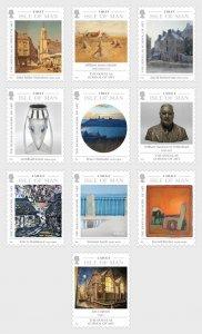 Isle of Man 2020 The Douglas School of Art 10v MNH