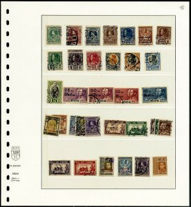 Thailand Stamps Collection Lot of 58 Early Mint & Used