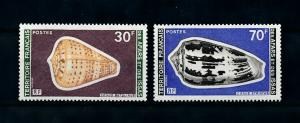 [99472] Afars and Issas 1977 Marine Life Sea shells  MNH