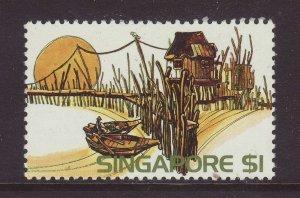 1975 Singapore $1 Unmounted Mint SG248