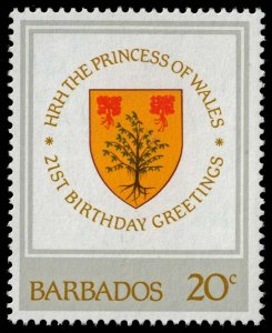 Barbados - Scott 585 - Mint-Never-Hinged