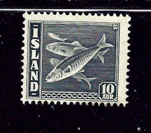 Iceland 222 MH 1945 Fish