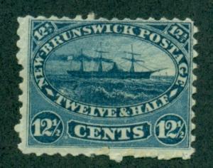 New Brunswick #10  Mint  F-VF  OG  VLH  Scott $77.50
