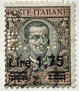 AlexStamps ITALY #158 FINE Used