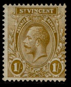 ST. VINCENT SG138, 1s bistre brown, M MINT.