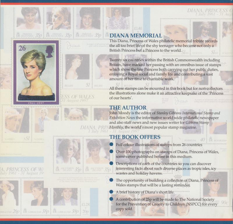 Diana - Princess of Wales 1961-1997, The Stanley Gibbons Collection, NEW