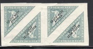 SOUTH WEST AFRICA #81  1926 4p  #A3 HOPE OVPRT IMP.     MINT VF H O.G