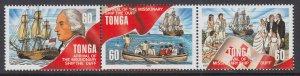 Tonga 961 Sailing Ship MNH VF