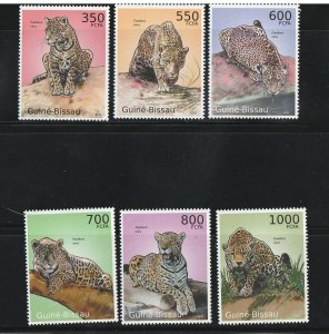 Guinea-Bissau MNH Big Cats 2010