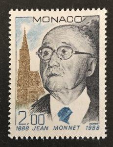 Monaco 1988 #1635, MNH, CV $3