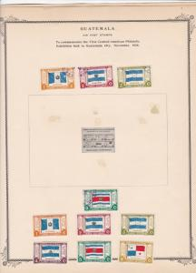 guatemala stamps page ref 17213