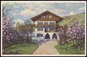 Germany 1930 Oberammergau Bavaria Passionspiel Private GSK Postal Card Cov 68566