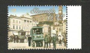 SLOVENIA - MNH STAMP - TRAM - 2009.