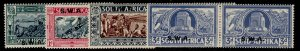 SOUTH WEST AFRICA GVI SG105-108, complete set, M MINT. Cat £110. PERF 13 X 11½