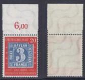 West Germany,100 Years of German Stamps,20 Pf orangered