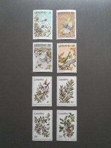 Lesotho 262-269 VF MNH. Scott $ 3.20