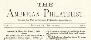 Doyle's_Stamps: APS Members' Delight- The American Philatelist Volume 1, No. 2