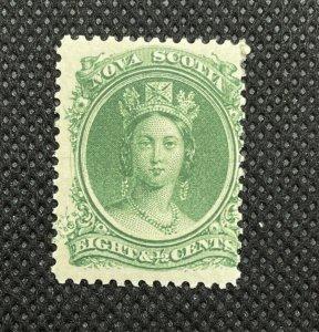 1860 Nova Scotia 8 1/2c SC#11 MNH Canada Stamp