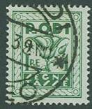 Rhodes SC# J8 Postage Due 1 Lira Used