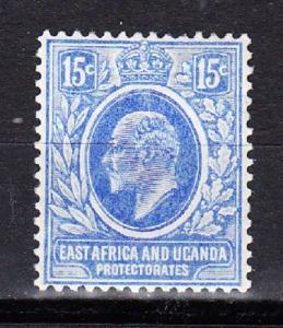 East Africa and Uganda Scott 36 Mint hinged (Catalog Value $30.00)