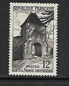 FRANCE, 676, USED, GATE OF FRANCE VAUCOULEURS