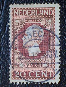 Netherlands Scott #95 used