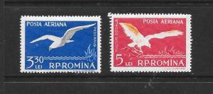 BIRDS - ROMANIA #C52-54  LH
