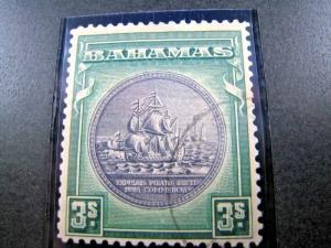 BAHAMAS SCOTT #91a - 1946  F/USED     (apsB26)