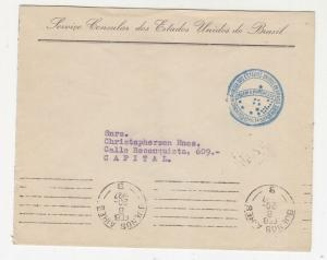 ARGENTINA, 1927 cover, Brazil Consulate, Buenos Aires, local.
