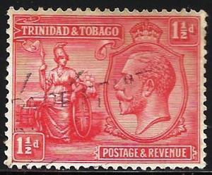 Trinidad and Tobago 1922 Scott# 23 Used