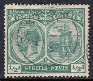 St. Kitts and Nevis - Scott #37 - Used - SOTN - SCV $1.50