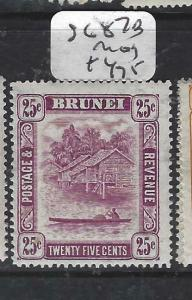 BRUNEI  (PP0905B)  RIVER  25C  SG 87B   MOG