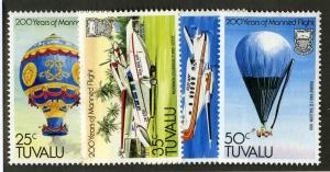 TUVALU 208-11 MH SCV $1.70 BIN $.85 AVIATION
