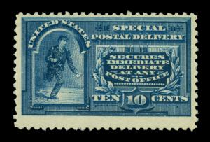 US 1894  SPECIAL DELIVERY  10c blue  Scott # E4 mint MLH VF-XF
