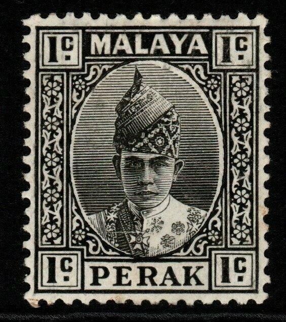 MALAYA PERAK SG103 1939 1c BLACK MTD MINT