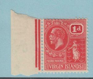 VIRGIN ISLANDS 53a MINT  HINGED OG *  NO FAULTS EXTRA FINE