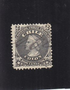 Chile: Sc #16, Used  (33763)
