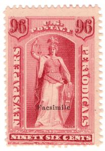(I.B) US Postal Service : Newspapers & Periodicals 96c (Senpf reprint)