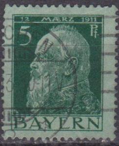 Bavaria #78 F-VF Used (ST1170)