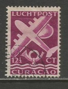 Netherlands Antilles   #C33A  Used  (1947)  c.v. $0.25