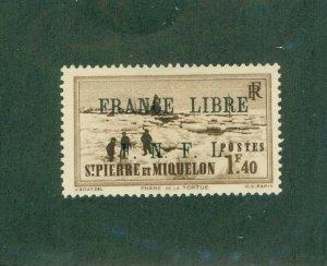 ST. PIERRE & MIQUELON 241 MHR CV$ 21.00 BIN$ 9.50