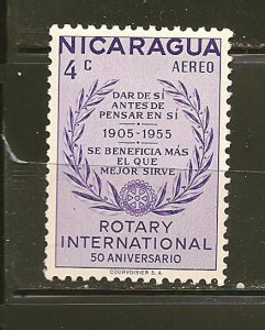 Nicaragua C356 Rotary Airmail Mint Hinged